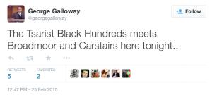 Carstairs Tsar